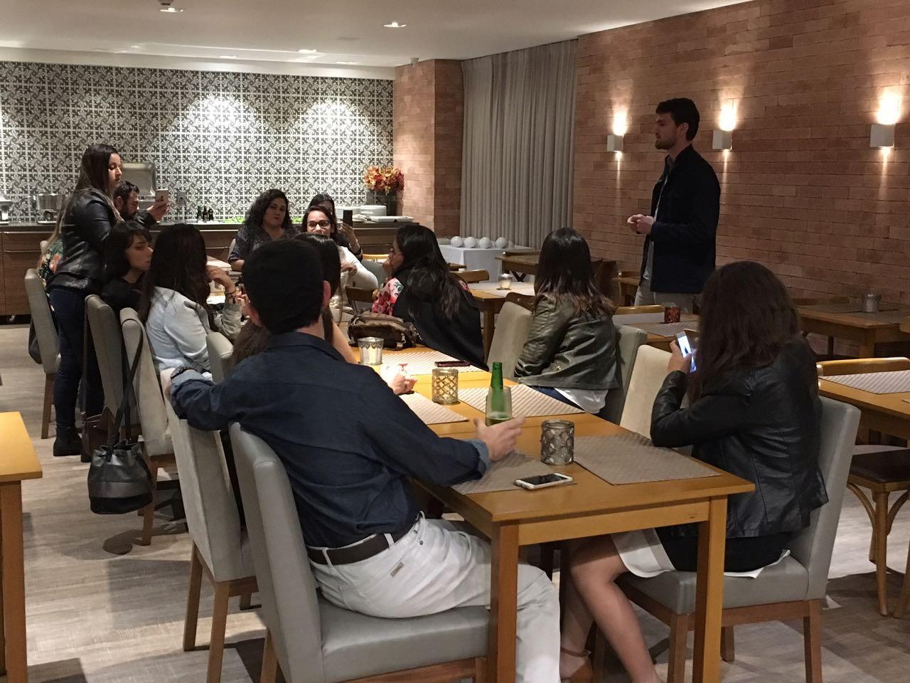 Interclass recebe blogueiros do turismo