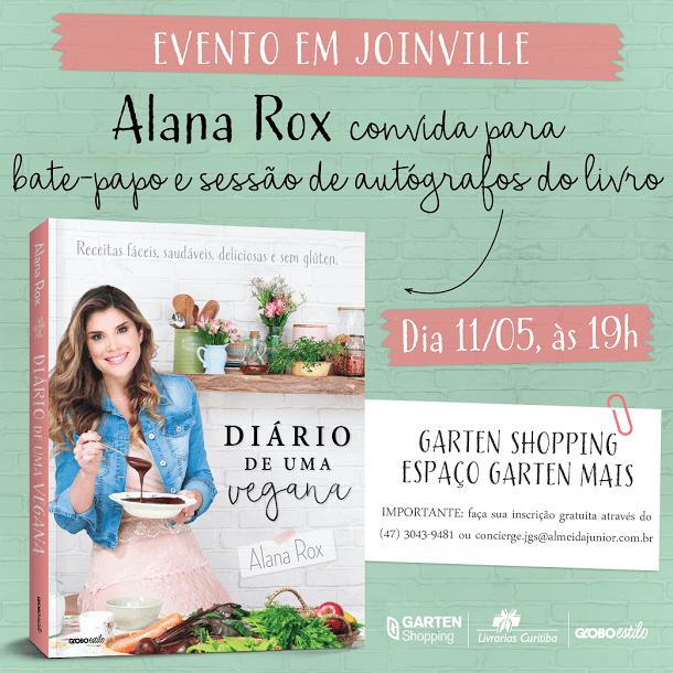 Palestra: Diário de uma Vegana com Alana Rox
