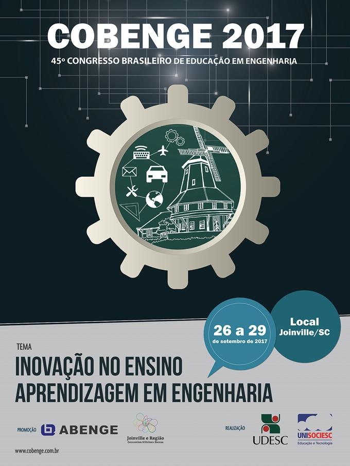 45º Congresso Brasileiro de Educação em  Engenharia – COBENGE