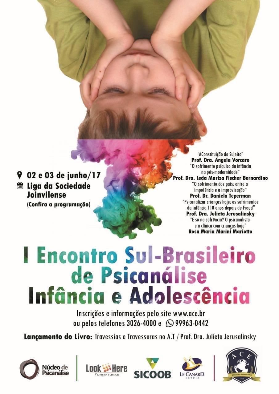 1° Encontro Sul-Brasileiro de Psicanálise : Infância e Adolescência