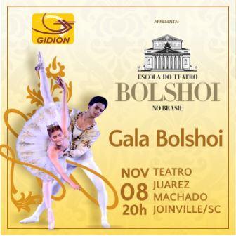 Espetáculo: Gidion apresenta Gala Bolshoi