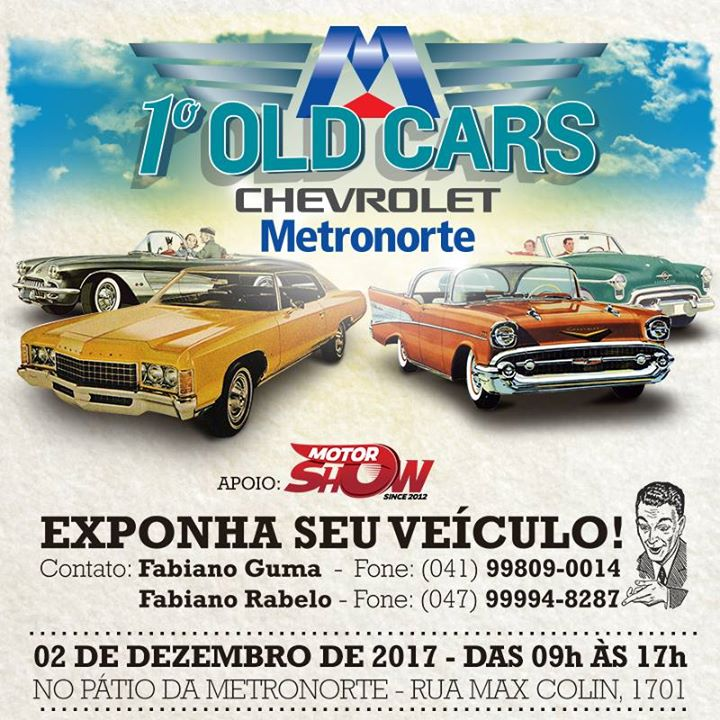 1° OLD CARS Metronorte