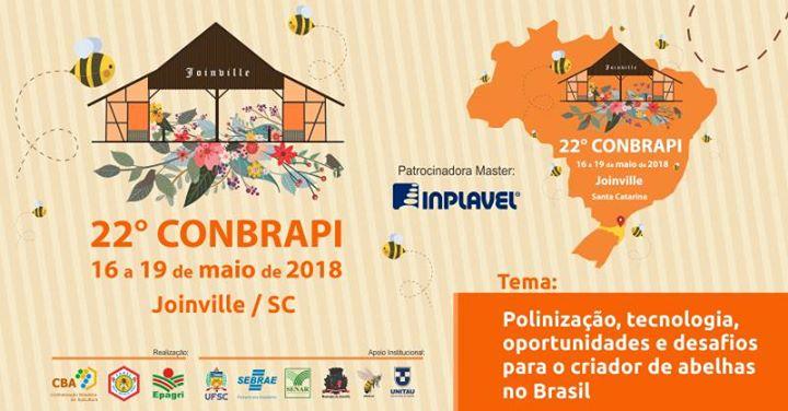 22º Congresso Brasileiro de Apicultura e 8º Congresso Brasileiro de Meliponipocultura