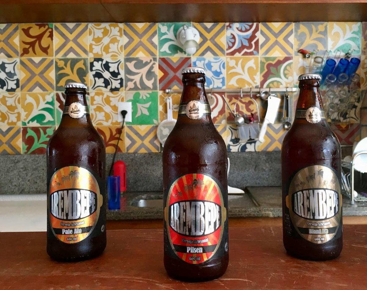 Cerveja artesanal Arembepe