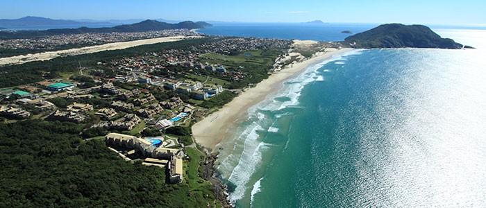 Nossa vizinha, a Praia do Santinho em Florianópolis